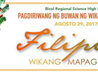 Bicol Regional Science High School – Where quality is a habit and